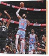 Minnesota Timberwolves V Atlanta Hawks Wood Print
