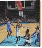 Minnesota Timberwolves V Oklahoma City Wood Print