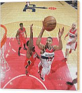 New Orleans Pelicans V Washington Wood Print
