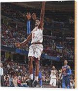 Oklahoma City Thunder V Cleveland Wood Print