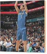 Orlando Magic V Charlotte Hornets Wood Print