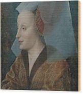 Portrait Of A Noblewoman Wood Print