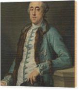 Portrait Of John Scott Of Banks Fee  Wood Print