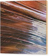 Rock Formations, Vermillion Cliffs Wood Print