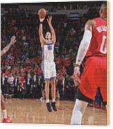 Sacramento Kings V Houston Rockets Wood Print