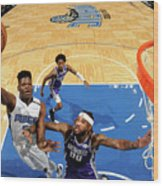 Sacramento Kings V Orlando Magic Wood Print