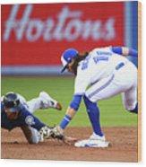 Seattle Mariners V Toronto Blue Jays Wood Print