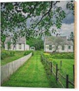 Sherbrooke Village Wood Print