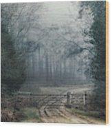 Sloden Inclosure - England Wood Print
