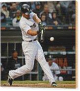 Texas Rangers V Chicago White Sox Wood Print