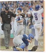 Toronto Blue Jays V Chicago Cubs Wood Print