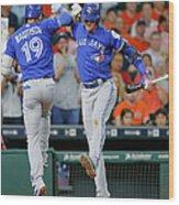 Toronto Blue Jays V Houston Astros 2 Wood Print