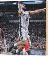 Toronto Raptors V San Antonio Spurs Wood Print
