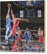 Washington Wizards V Dallas Mavericks Wood Print