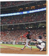 World Series - Washington Nationals V 2 Wood Print