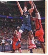Dallas Mavericks V Houston Rockets Wood Print