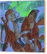 Kintu And Nambi Kintus Tasks Wood Print