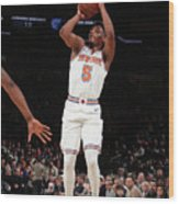 Memphis Grizzlies V New York Knicks Wood Print