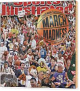 2003 March Madness College Basketball Preview Sports Illustrated Cover Wood Print