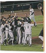 2005 World Series - Chicago White Sox Wood Print