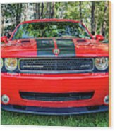 2008 Dodge Challenger 500 Wood Print