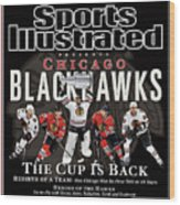 2010 Stanley Cup Finals Sports Illustrated Cover Wood Print