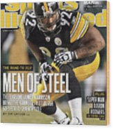 2011 Afc Championship New York Jets V Pittsburgh Steelers Sports Illustrated Cover Wood Print