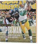 2011 Nfc Championship Green Bay Packers V Chicago Bears Sports Illustrated Cover Wood Print