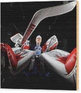2012 Nhl All-star Game - Player Wood Print