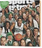 2014 March Madness College Basketball Preview Part II Sports Illustrated Cover Wood Print