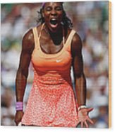 2015 French Open - Day Fourteen Wood Print