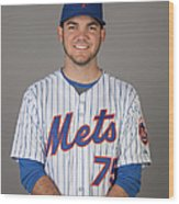 2015 New York Mets Photo Day Wood Print