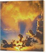 2016 First Sunrise 2 Wood Print