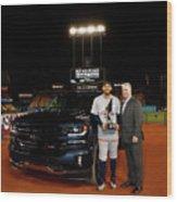 2017 Major League Baseball World Series Wood Print