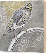 2018 Septembird 16 Myna Bird Wood Print