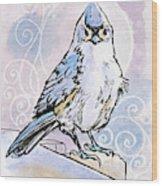 2018 Septembird 3 Wood Print