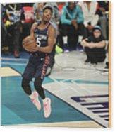 2019 At&t Slam Dunk Contest Wood Print