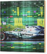 2019 Australian Gp Mercedes Bottas Winner Wood Print