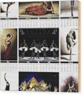 2019 High Resolution R Young Art Dance Calendar - Available Artw Wood Print