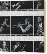 2019 High Resolution R Young Art Musicians Calendar Wood Print