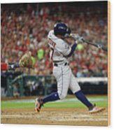 2019 World Series Game 5 - Houston Wood Print