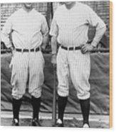 National Baseball Hall Of Fame Library 203 Wood Print