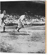 National Baseball Hall Of Fame Library 205 Wood Print