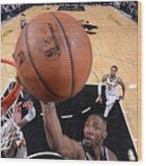 Denver Nuggets V Sacramento Kings Wood Print