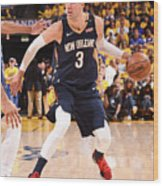 New Orleans Pelicans V Golden State Wood Print