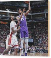 Miami Heat V Sacramento Kings Wood Print