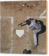 San Francisco Giants V Arizona Wood Print