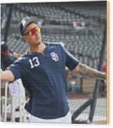 San Francisco Giants V San Diego Padres Wood Print