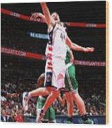 Boston Celtics V Washington Wizards - Wood Print