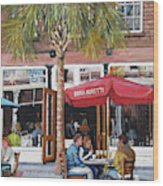 2nd Sunday Lunch On King St. Wood Print